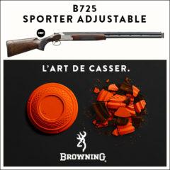 B725 SPORTER ADJUSTABLE TRAP FOREARM 12M